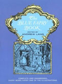 Blue fairy book Andrew Lang cover