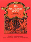 Red fairy book Andrew Lang cover